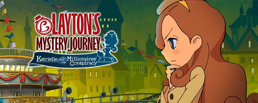 L'aventure Layton : Header